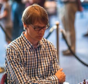 Erik tidigare under SM. Foto Lars O A Hedlund