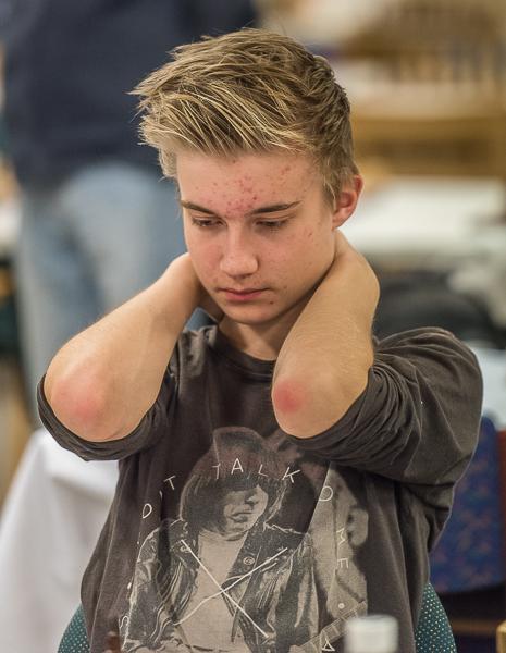 Anton Darnell  kom femma på 5/7. Foto Lars OA Hedlund