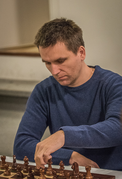 Vår nye polska stormästaren Bartosz Socko briljerade idag. Foto Lars OA Hedlund