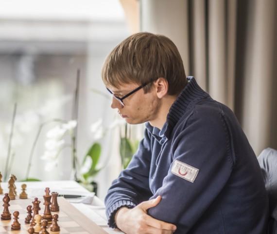 Erik Blomqvist var obesegrad i Påskturneringen. Foto Lars OA Hedlund