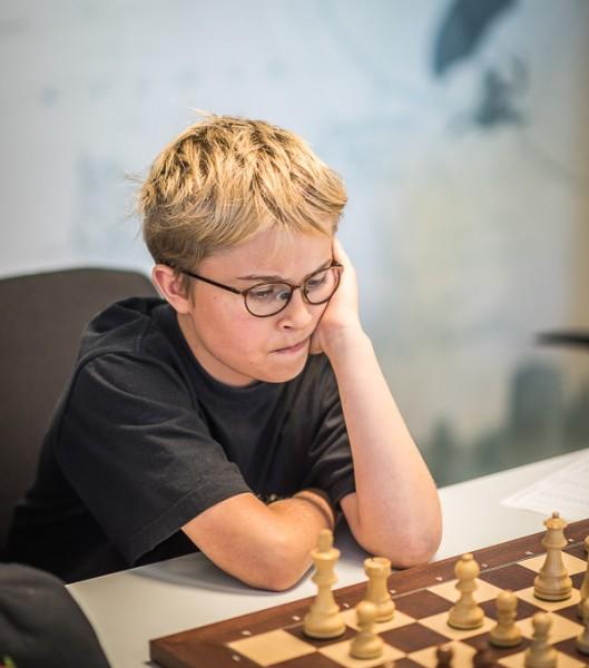 Hampus under matchen mot Täby. Foto Lars OA Hedlund
