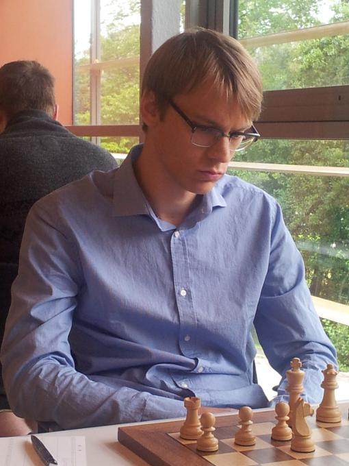 Erik funderar. Foto Sören Svensson