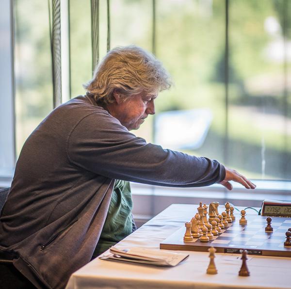 Lasse Karlsson i aktion. Foto Lars OA Hedlund