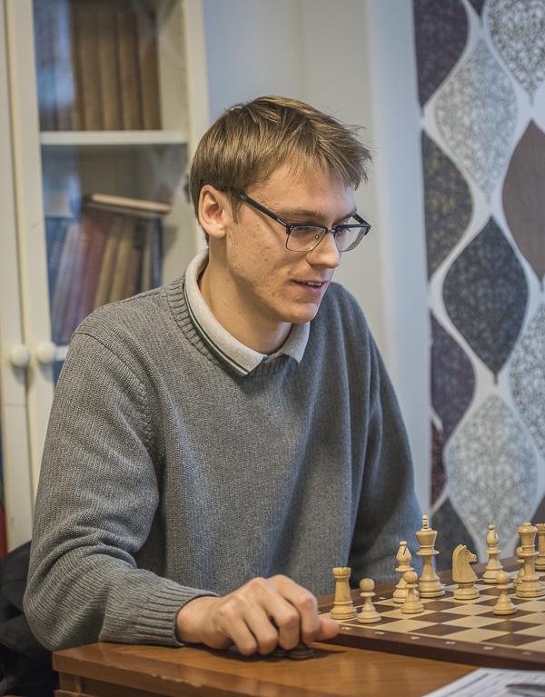 Erik hade all anledning att se glad ut. Foto Lars OA Hedlund