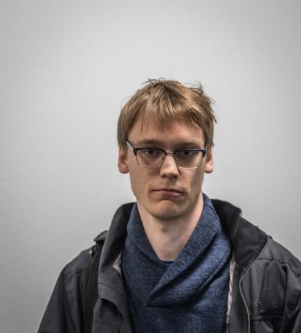 Erik Blomqvist under Stockholm Chess Challenge. Foto Lars OA Hedlund